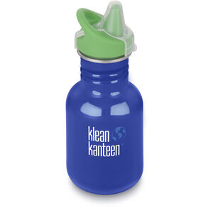 Klean Kanteen Kid Classic Bottle Sippy Cap 355ml Barn coastal waters coastal waters