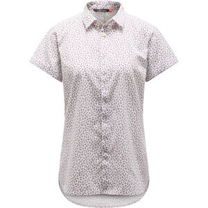 Haglöfs Idun SS Shirt Dam acai berry flower acai berry flower