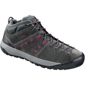 Mammut Hueco Mid GTX Shoes Dam graphite-beet graphite-beet