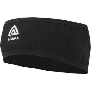 Aclima LightWool Reversible Headband Jet Black Jet Black