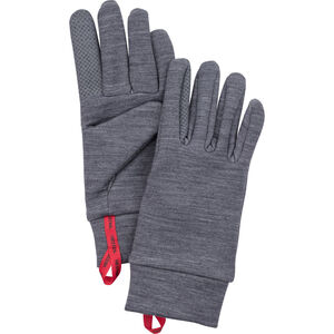 Hestra Touch Point Warmth Gloves 5-Finger grå grå
