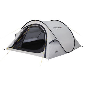 High Peak Boston 3 Tent aluminium/dark grey aluminium/dark grey