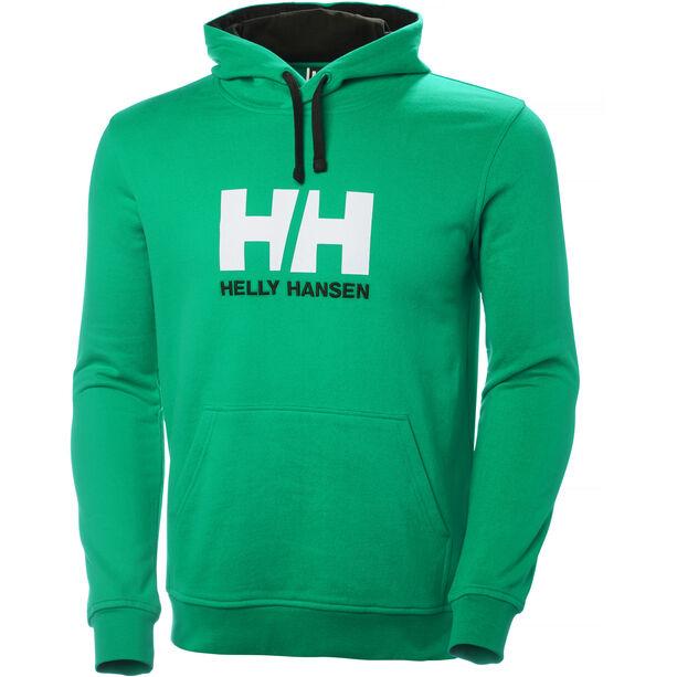 Helly Hansen HH Logo Hoodie Herr pepper green