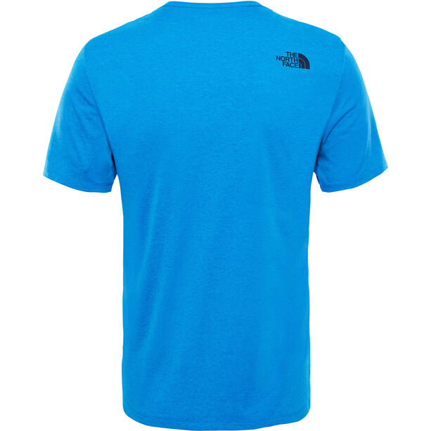 The North Face Purna S/S Tee Herr bomber blue light heather