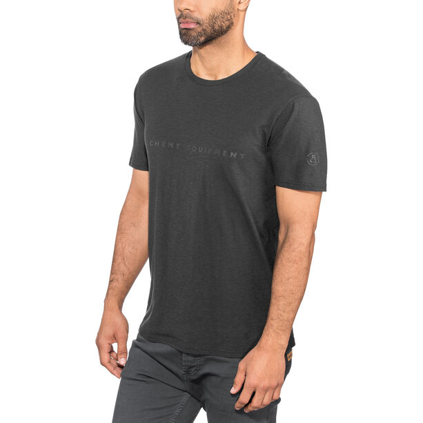 Alchemy Equipment Organic Logo Tee Herr black