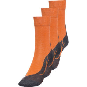 axant 73 Merino Socks 3 Pack Barn orange orange