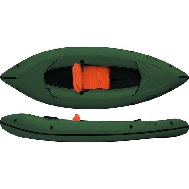 nortik Family-Raft dark green/black
