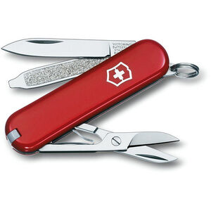 Victorinox Classic SD red red