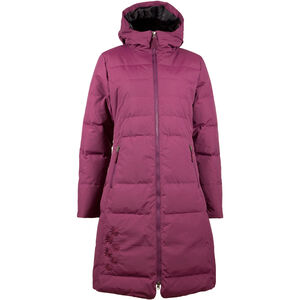 SKHoop Long Down Jacket Dam bordeaux bordeaux