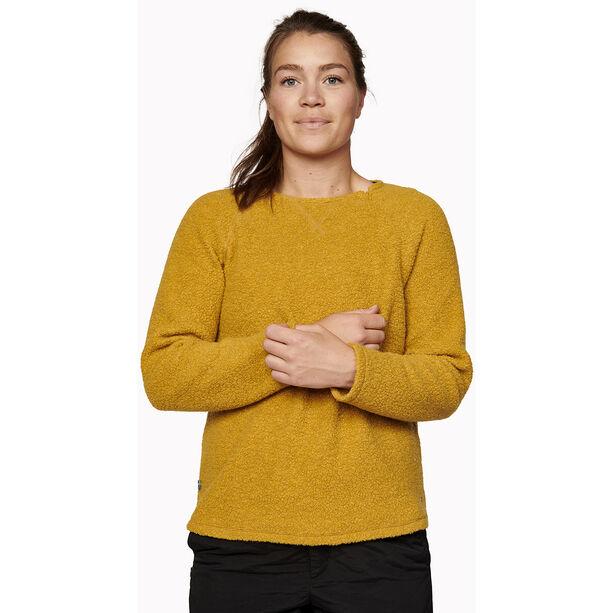 Varg Fårö Wool Jersey Dam mustard gold