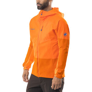 Mammut Eisfeld Light SO Hoody Herr sunrise sunrise