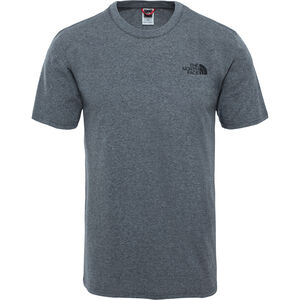 The North Face Simple Dome S/S Tee Herr tnf medium grey heather tnf medium grey heather