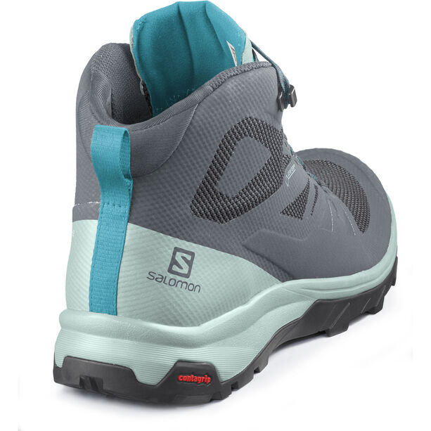 Salomon OUTline GTX Mid Shoes Dam stormy weather/icy morn/bluebird