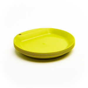 Wildo Camper Plate Flat Set Unicolor 6x lime lime