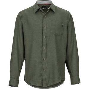 Marmot Hobson Midweight Flannel LS Shirt Herr rosin green heather rosin green heather