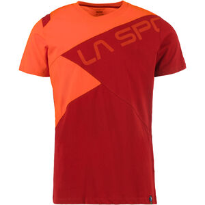 La Sportiva Float T-shirt Herr chili/pumpkin chili/pumpkin