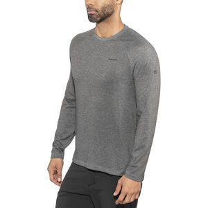 Craghoppers NosiLife Bayame II Long Sleeved T-Shirt Herr black pepper marl black pepper marl