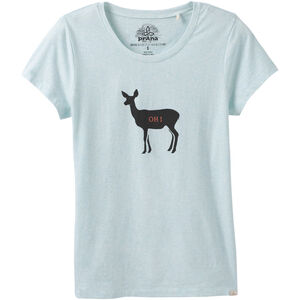 Prana Graphic Tee Dam aqua deer aqua deer