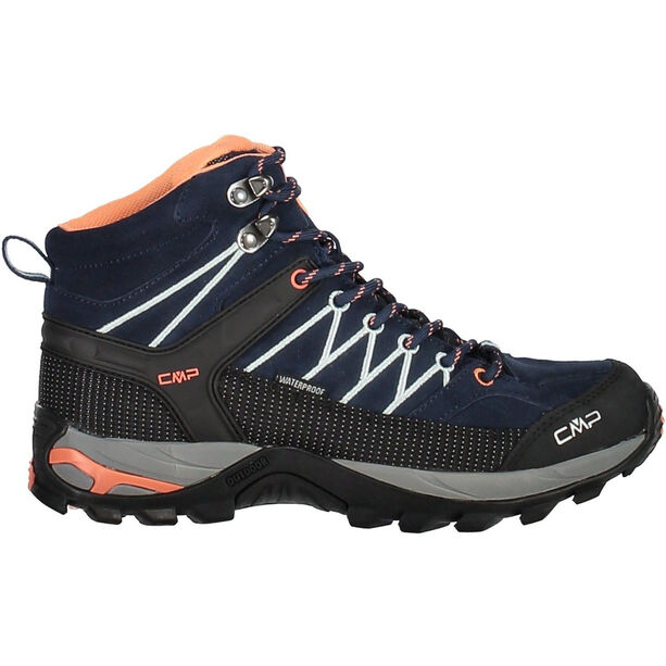 CMP Campagnolo Rigel Mid WP Trekking Shoes Dam black blue-giada-peach