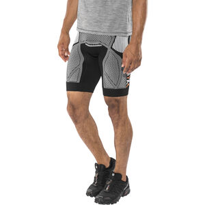 X-Bionic The Trick Running Pants Short Herr black/white black/white