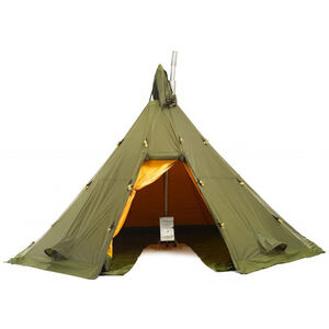 Helsport Varanger 4-6 Outertent + Pole green green