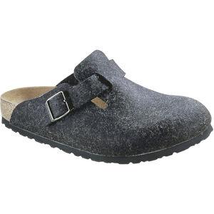 Birkenstock Boston Sandals Wool-Felt Dam Anthracite Anthracite