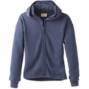 Prana Cozy Up Zip Up Jacket Dam equinox blue heather equinox blue heather