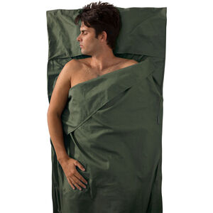 Sea to Summit Premium Cotton Travel Liner Traveller with Pillow Slip green green