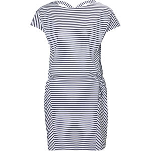 Helly Hansen Siren Dress Dam navy stripe navy stripe