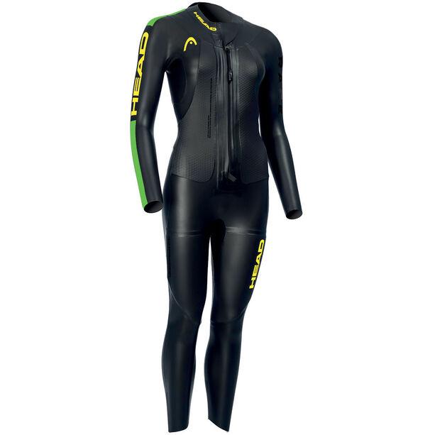 Head SwimRun Race Suit Dam black