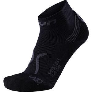 UYN Run Super Fast Socks Dam black/anthracite black/anthracite
