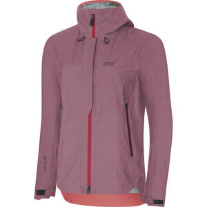 GORE WEAR H5 Women Gore-Tex Active Hooded Jacket Dam chestnut red/hibiscus pink chestnut red/hibiscus pink