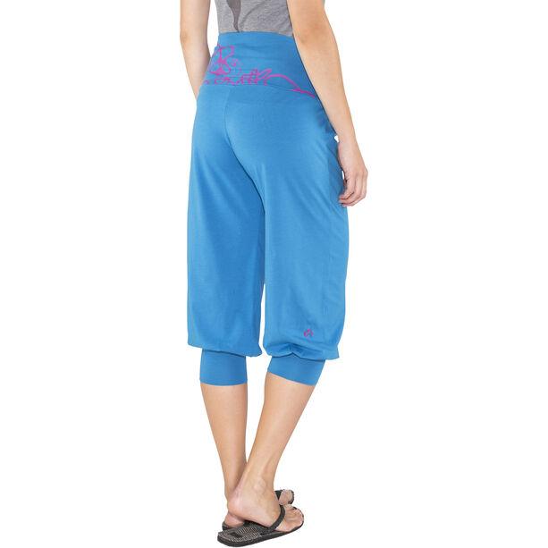 E9 Luna 3/4 Pants Dam cobalt-blue