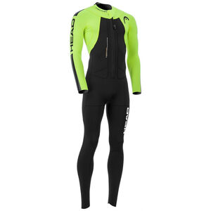 Head SwimRun Rough Suit Herr black/flourocent lime black/flourocent lime