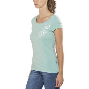 Kaikkialla Tytti Drirelease SS Shirt Dam light blue light blue