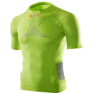 X-Bionic Effektor Power Running Shirt SS Herr greenlime/pearl grey greenlime/pearl grey