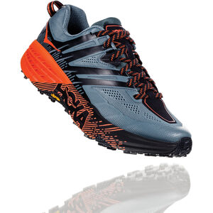 Hoka One One Speedgoat 3 Running Shoes Herr stormy weather/tangerine tango stormy weather/tangerine tango