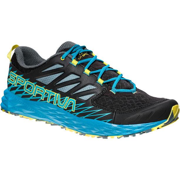 La Sportiva Lycan Shoes Herr black/tropic blue