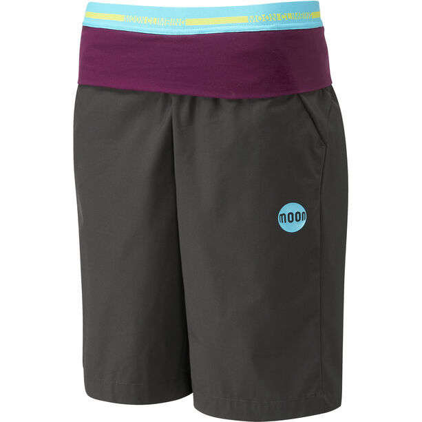 Moon Climbing Samurai Shorts Dam charcoal black