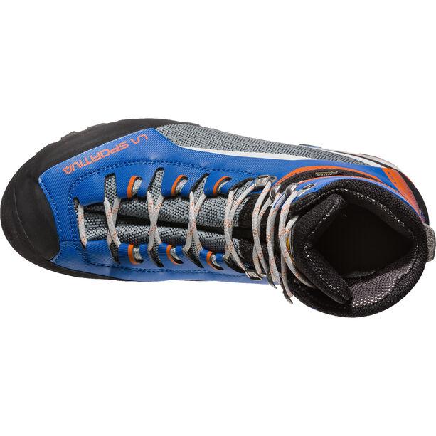 La Sportiva Trango Tower GTX Shoes Dam marine blue/lily orange