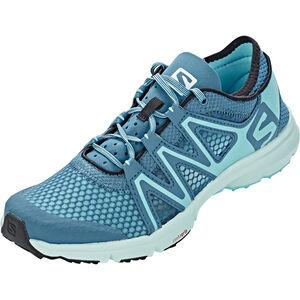 Salomon Crossamphibian Swift Shoes Dam mallard blue/blue curacao mallard blue/blue curacao
