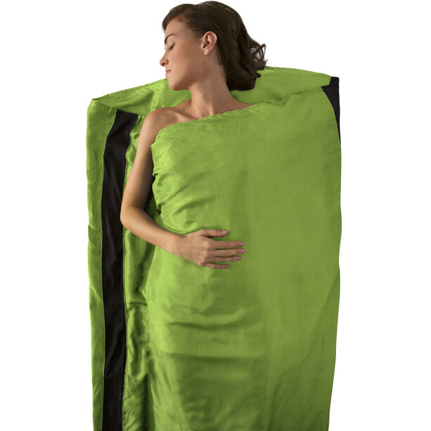 Sea to Summit Silk Stretch Liner Long green