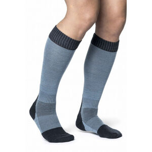 Woolpower Skilled Classic 400 Socks Dark Navy/Nordic Blue Dark Navy/Nordic Blue