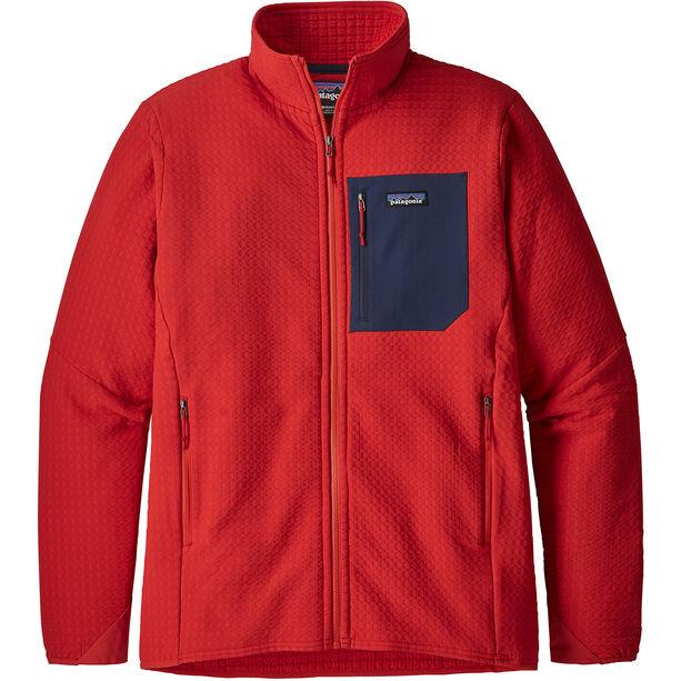 Patagonia R2 TechFace Jacket Herr fire
