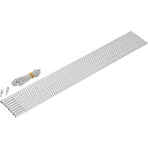CAMPZ Aluminium Arch Pole Set 9,5mm x 4,65m