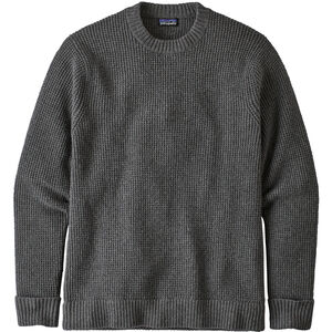 Patagonia Recycled Wool Sweater Herr Hex Grey Hex Grey