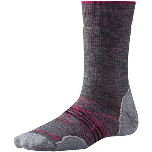 Smartwool PhD Outdoor Med Crew Socks Dam med grey med grey
