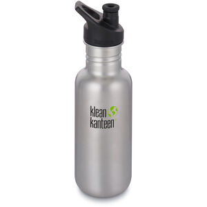 Klean Kanteen Classic Bottle Sport Cap 3.0 532ml brushed stainless brushed stainless