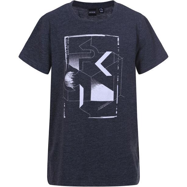 Icepeak Tate T-Shirt Pojkar black melange black melange
