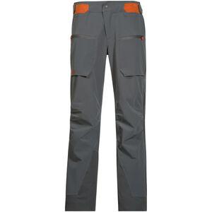 Bergans Gautefall Pants Dam solid dark grey/koi orange solid dark grey/koi orange